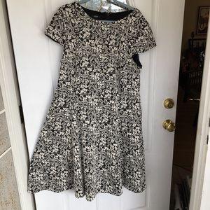 Alfani Lined Midi Dress